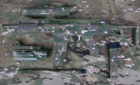 marcador camuflado
